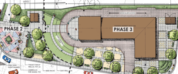 Old Town project, plaza on track for 2021